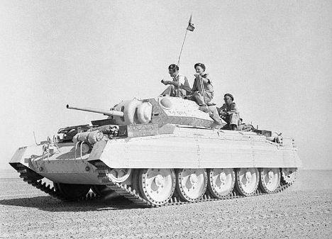 «Крусейдер», средний крейсерский танк армии Великобритании периода Второй мировой войны