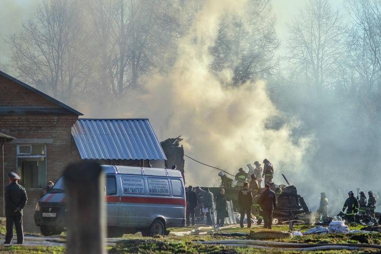 Последствия пожара в психиатрической больнице