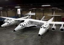 «SpaceShipTwo»  (SS2), суборбитальный космический корабль
