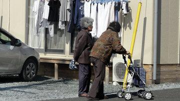 Фукусима: большая часть живущих здесь - старики