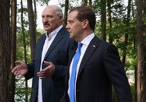 Встреча Дмитрия Медведева и Александра Лукашенко