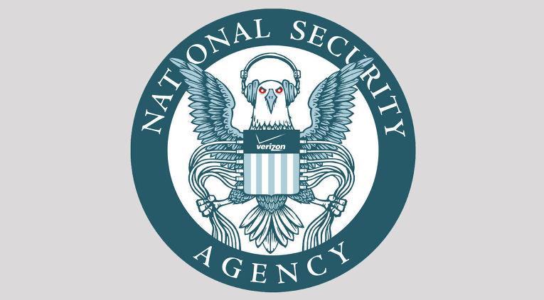Логотип Агентства национальной безопасности (NSA) от The Electronic Frontier Foundation's Hugh D'Andrade