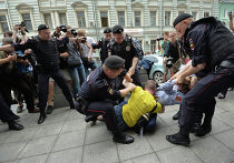 Акция ЛГБТ-движения в Москве