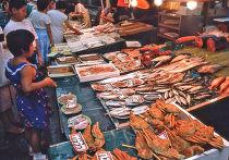 Рынок в г. Канадзава, Япония