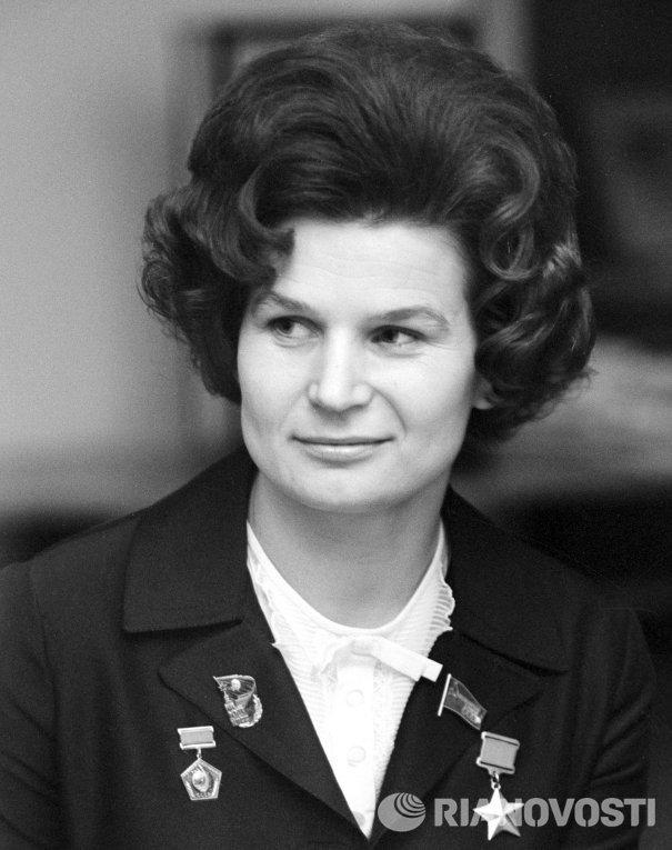 Летчик-космонавт СССР Валентина Владимировна Терешкова