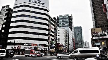 Одна из улиц Токио
