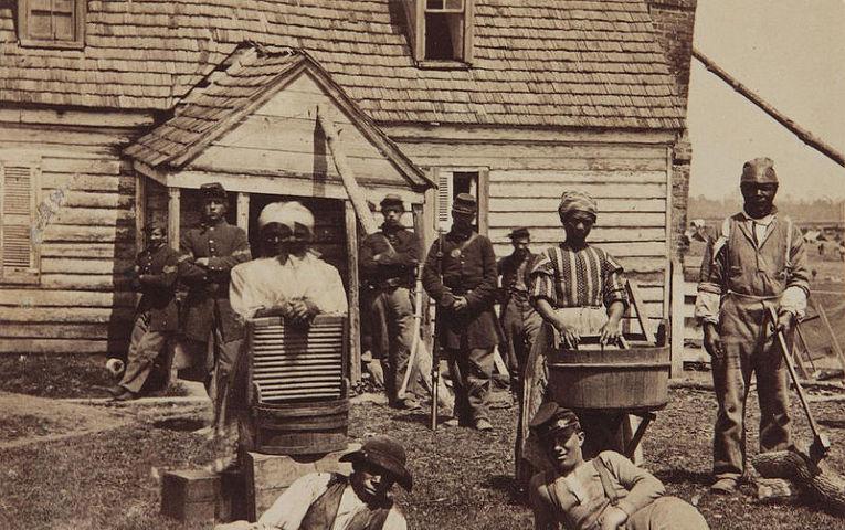 Рабы в США, конец XVIII века