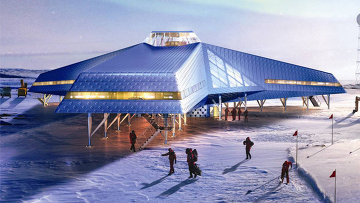 Выставка Ice Lab: проект полярной станции Jang Bogo (Южная Корея)