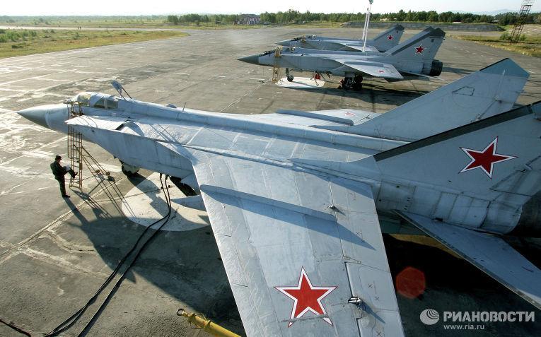 Истребители МиГ-31