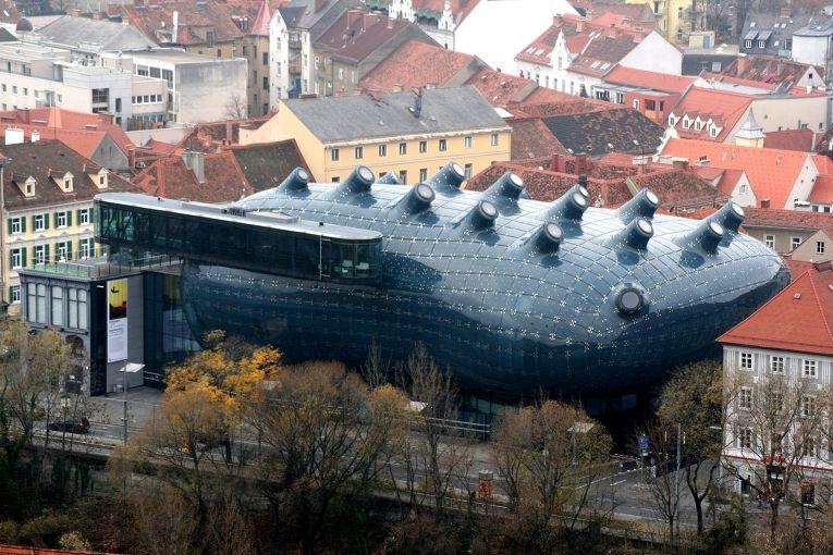 Кунстхаус в городе Грац