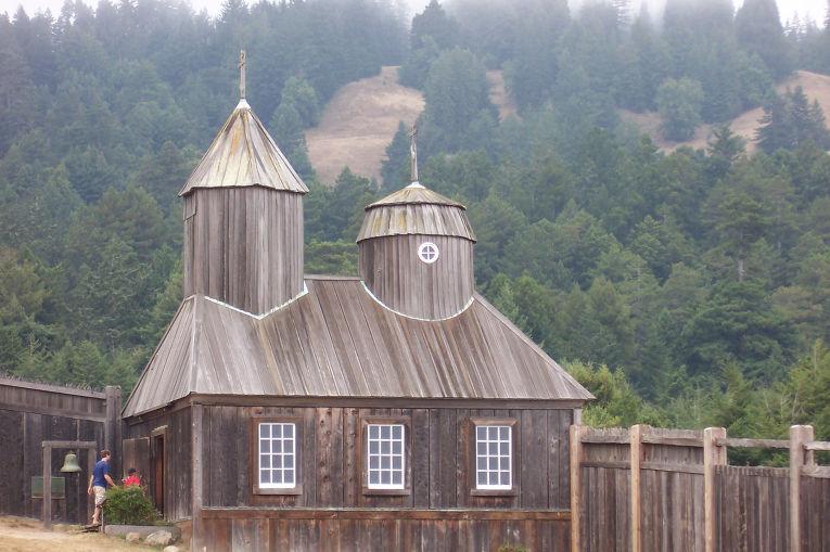 Церковь в Форт Росс, Калифорния