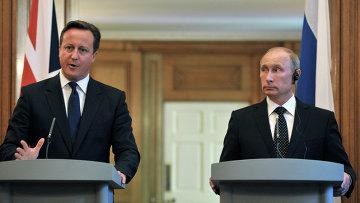 Рабочий визит В.Путина в Великобританию