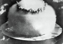Момент взрыва водородной бомбы