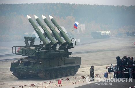 """Зенитный ракетный комплекс """"Бук-М1"""""""