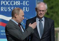 Владимир Путин и Херман Ван Ромпёй, архивное фото