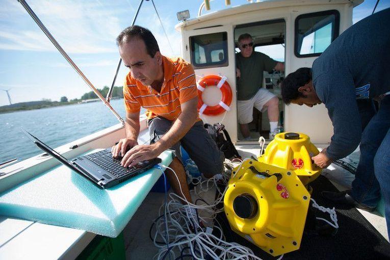 Испытания подводной сети Wi-Fi