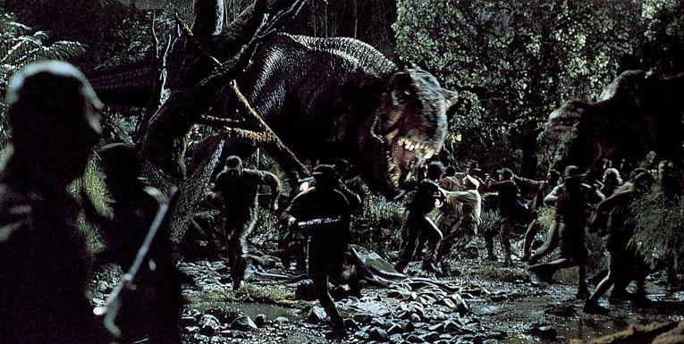 Кадр из фильма «Парк юрского периода: Затерянный мир»