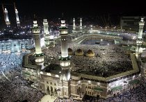 Паломники в Мекке, Саудовская Аравия