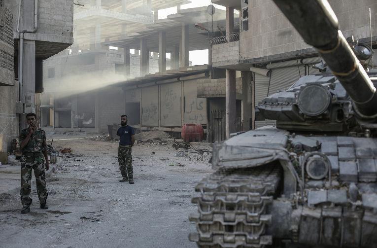Ситуация в сирийском городе Гута, архивное фото