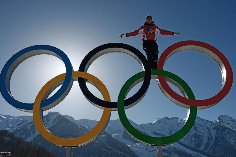 В Главной горной Олимпийской деревне