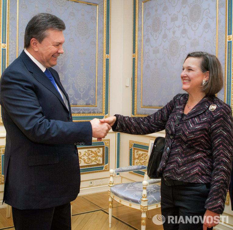Встреча президента Украины с помощником госсекретаря США по вопросам Европы и Евразии