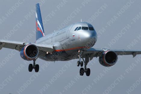 """Аэробус А-320 авиакомпании """"Аэрофлот"""""""