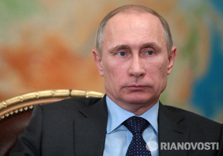 Владимир Путин провел встречу с Федором Андреевым