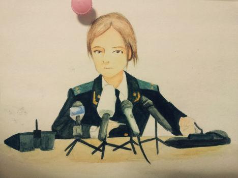 Генеральный прокурор Крыма Наталья Поклонская в образе персонажа манги
