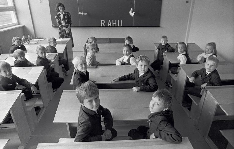 Школа в Эстонии, архив