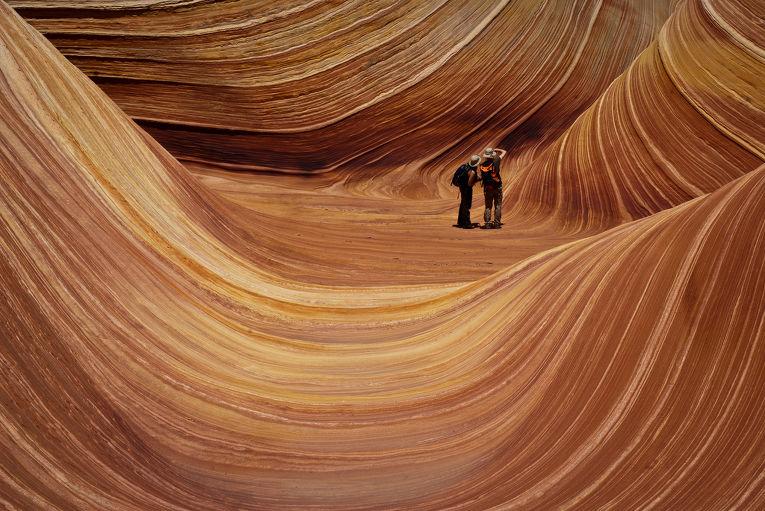Скальные образования Волна, Аризона
