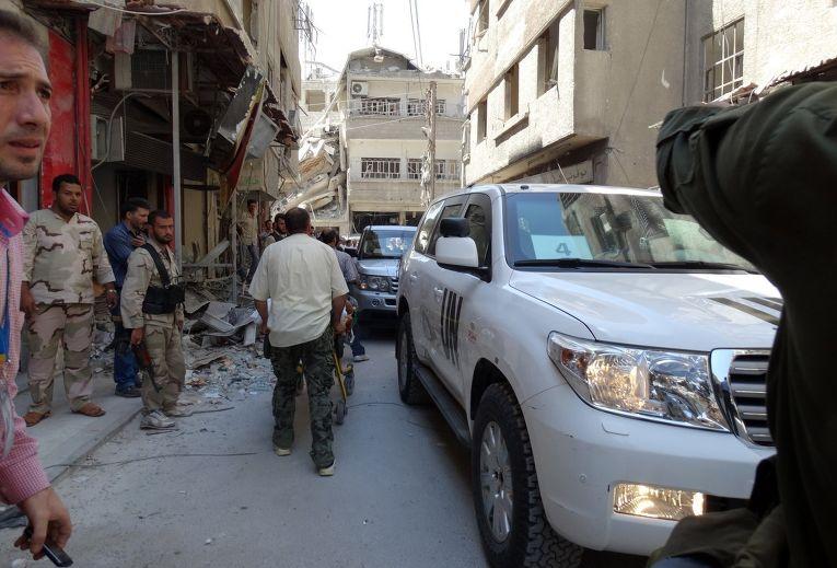 Расследование газовой атаки в Дамаске