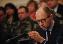 Арсений Яценюк на встрече с властями Донецка