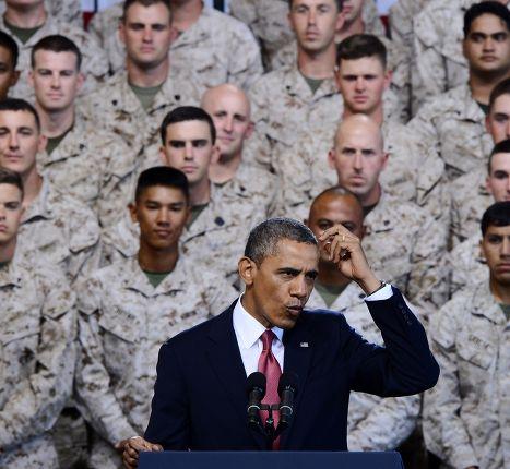 Обращение Барака Обамы к морским пехотинцам