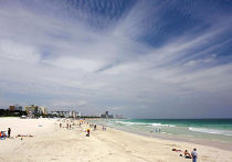 Пляж в Майами-Бич