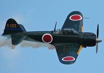 Японский истребитель времен Второй мировой войны Mitsubishi A6M Zero