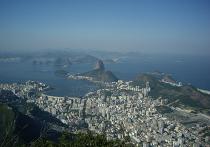 Вид на Рио от статуи Христа