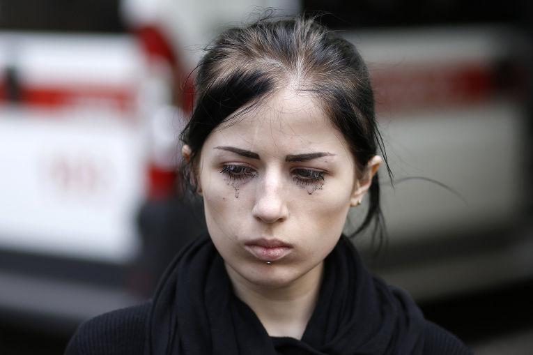 Похороны Юлии Изотовой в Краматорске