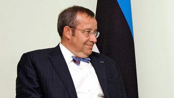 Президент Эстонии Томас Хендрик Ильвес
