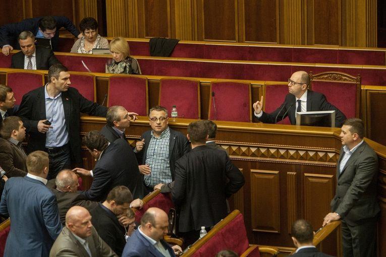 Заседание Верховной Рада Украины