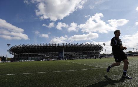 Стадион «Мюррейфилд» в Эдинбурге