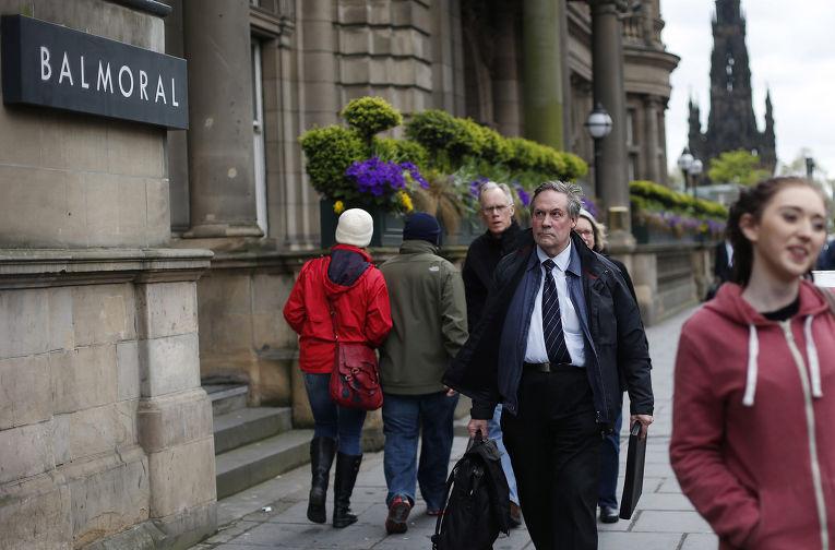Пятизвездочный Отель Балморал в Эдинбурге
