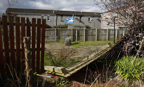 Жилой дом в городе Килмарнок в Шотландии