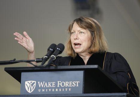 Бывший главный редактор The New York Times Джилл Абрамсон