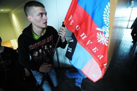 Сторонник Донецкой народной республики
