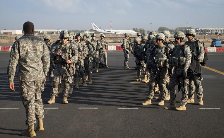 Американская военная база «Кэмп-Лемоньер» в Джибути