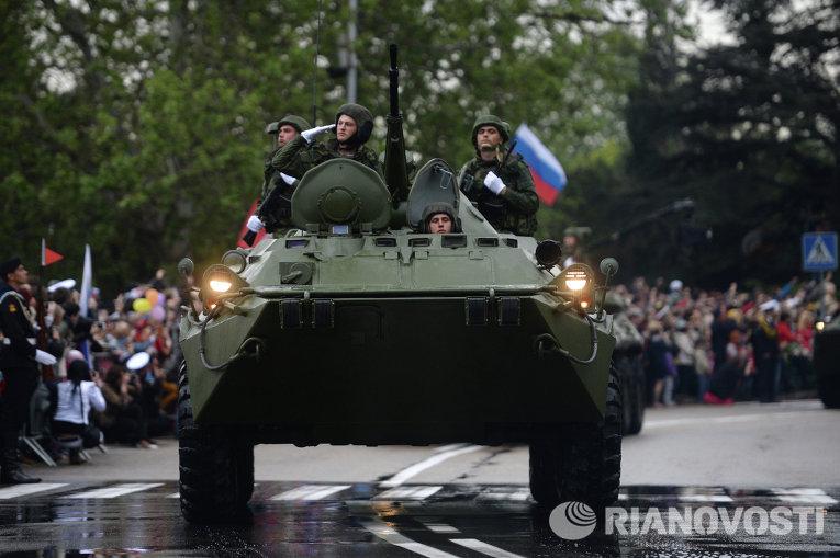 Парад Победителей в Севастополе