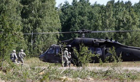 Учения Saber Strike в Литве