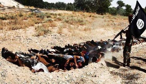 Иракские солдаты, убитые организацией «Исламское государство Ирака и Шама»