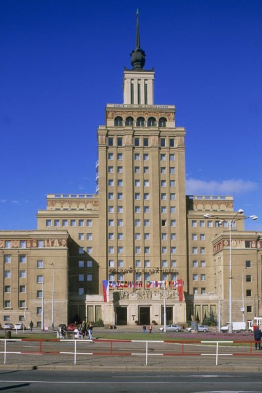 Здание отеля Crowne Plaza в Праге