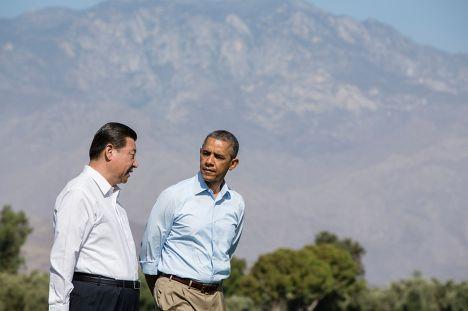 Барак Обама и Си Цзиньпин